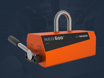 Neo permanent magnet for lifting